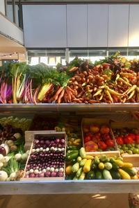 L'étal de légumes de La Maison Plisson 2.