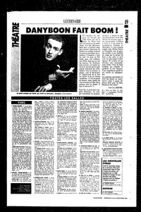La première critique sur Dany Boon dans le Figaroscope.