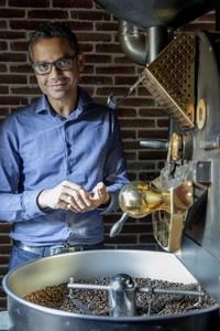 Veda Viraswami, torréfacteur du café Alain Ducasse.