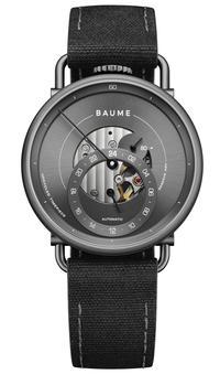 Montre Iconic, modèle le plus haut de gamme de Baume avec un mouvement automatique (960€).