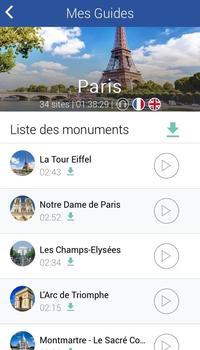 L'appli Desticity propose un audioguide pour visiter Paris à son rythme.