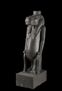 La déesse Thouéris, grauwacke, 666-525 av. J.-C. (Le Caire, Musée égyptien).