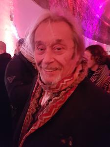 Parmi les visages connus de la soirée, celui de l'acteur Patrick Bouchitey.