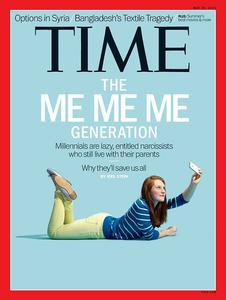 La couverture du Time en 2013