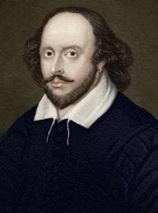 Portrait de William Shakespeare.