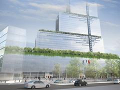 Avec Renzo Piano, le futur palais de justice de Paris se met au verre