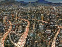 Mexico, la ville sublimée de Nicolas de Crécy
