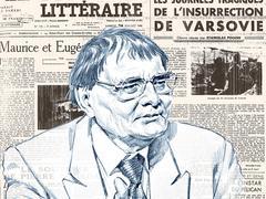 Vipère au poing: en 1948, Hervé Bazin vu par Jean Blanzat
