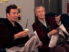 Paul McCartney et Jimmy Fallon piègent des fans dans un ascenseur