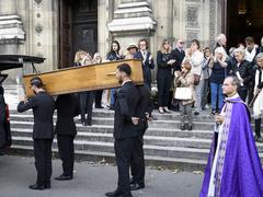 Jean Piat, le dernier hommage des amis et du public au monstre sacré du théâtre