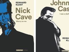 Nick Cave et Johnny Cash en bande dessinée