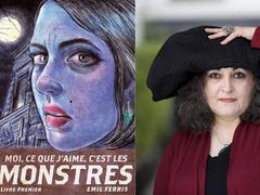 Moi, ce que j'aime c'est les monstres d'Emil Ferris, prix de la critique ACBD 2019