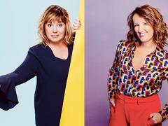 Michèle Bernier et Anne Roumanoff: des vétérans de l'humour en pleine forme