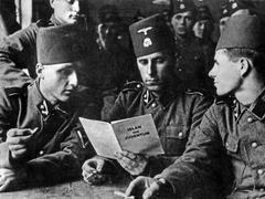 Les musulmans et la machine de guerre nazie, le croissant et la croix gammée