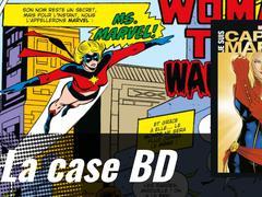 La case BD: Je suis Captain Marvel, les secrets de la plus puissante des super-héroïnes