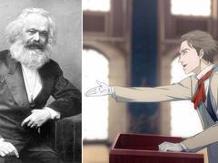 Karl Marx, héros d'un dessin animé de propagande en Chine