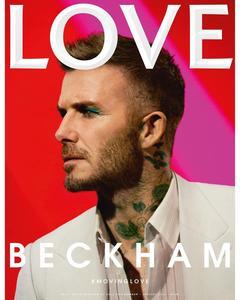 Couverture du dernier magazine Love.