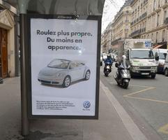 La parodie d'une publicité Volkswagen.