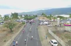 La première étape du Tour Cycliste Antenne Réunion 2016 a été arrêtée ce dimanche.