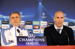 José Mourinho et Zinédine Zidane en 2011.