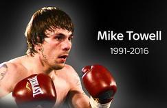 Mike Towell, boxeur professionnel écossais de 25 ans est décédé samedi des suites de ses blessures en combat survenues jeudi dernier.