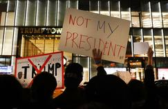Trump accuse les médias d'inciter à manifester contre lui