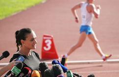 L'ancienne perchiste Yelena Isinbayeva, représentante des athlètes au sein du Comité international olympique et candidate à la présidence de la Fédération russe d'athlétisme.