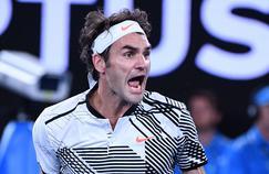 Roger Federer, une image unique auprès du grand public malgré des résultats moins brillants depuis plusieurs saisons.