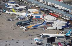 Boeing marque un point au Bourget