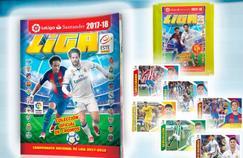 Neymar et le madrilène Isco sur la couverture de la 46e édition de l'album Panini Liga.
