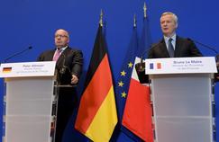Tensions commerciales : Le Maire et son homologue allemand «main dans la main»