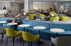 Un bar signé Mathieu Lehanneur pour le nouveau salon business d'Air France