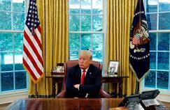 Trump explique sa politique étrangère dans une interview