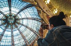 Les coulisses des Journées du Patrimoine aux Galeries Lafayette