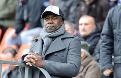 Pierre-François Aubameyang, assistant à un match de son fils avec Saint-Etienne en 2013 contre Evian Thonon Gaillard.