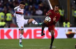 Giuseppe Rossi (à gauche) avait retrouvé un club l'hiver dernier, le Genoa, avec lequel il a disputé 10 matchs pour un but.
