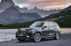 BMW X7, la première classe des aventuriers