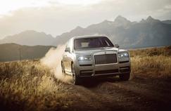 Rolls-Royce Cullinan, un 4x4 pour séduire les jeunes