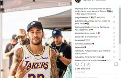 Neymar était au Portugal ce week-end pour assister à une compétition de surf.