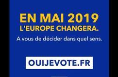 Européennes : un clip du gouvernement fait polémique