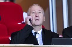 Le directeur général de l'AS Monaco, Vadim Vasilyev, le 6 octobre dernier.