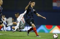 Dejan Lovren, ici au duel avec Iago Aspas, n'a pas masqué sa joie de vaincre l'Espagne de Sergio Ramos en Ligue des nations.
