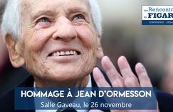Le Figaro rend hommage à Jean d'Ormesson