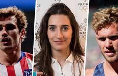 Antoire Griezmann, Perrine Laffont et Kevin Mayer ont connu une année 2018 mémorable.