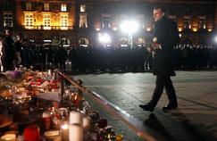 À Strasbourg, les habitants rendent hommage aux forces de l'ordre