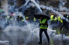 «Gilets jaunes» : plus de manifestants à Bordeaux qu'à Paris