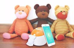 MonFoxy, la chaussette connectée pour surveiller le sommeil du nourrisson