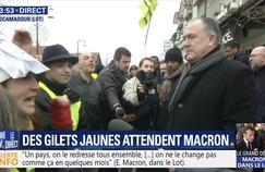 Plusieurs ministres pris à partie par des «gilets jaunes» dans le Lot