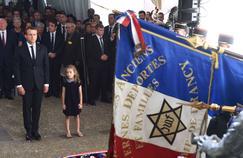 Emmanuel Macron cherche des réponses à la montée de l'antisémitisme