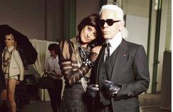 Inès de la Fressange: «Karl Lagerfeld m'a mise sur un piédestal»